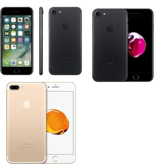 5 Pcs – Apple iPhone 7 – Refurbished (GRADE A – Unlocked) – Models: MN8X2VC/A, NN9Q2LL/A, MN8G2LL/A – TF