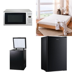 Pallet – 12 Pcs – Microwaves, Freezers, Toasters & Ovens – Customer Returns – Hamilton Beach, Arctic King, Toastmaster, Kalorik