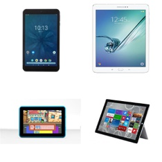 34 Pcs - Tablets -Refurbished (GRADE A, GRADE B) - Onn, Samsung, EPIK, Microsoft
