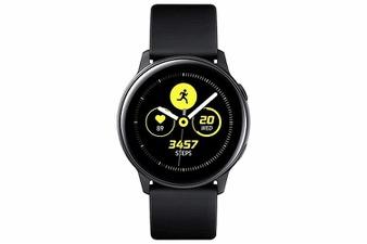 32 Pcs – Samsung SM-R500NZKAXAR Galaxy Watch Active 40mm Black US Version – Refurbished (GRADE A, GRADE B – No Power Adapter)