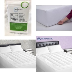 6 Pallets – 270 Pcs – Covers, Mattress Pads & Toppers, Kitchen & Dining, Comforters & Duvets, Vacuums – Customer Returns – Mainstays, Mainstay's, Aller-Ease, Shark