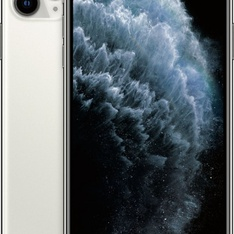 Apple iPhone 11 Pro Max 64GB Silver LTE Cellular Straight Talk/TracFone MWH02LL/A - TF - Unlocked - Certified Refurbished