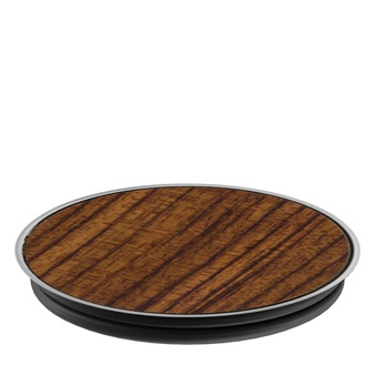 48 Pcs – PopSockets: Collapsible Grip & Stand for Phones and Tablets – Rosewood – New – Retail Ready