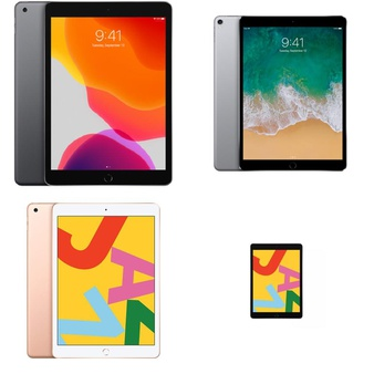 18 Pcs – Apple Ipads – Refurbished (GRADE D) – Models: MW742LL/A, MW762LL/A, 3d116ll/a, 3F835LL/A