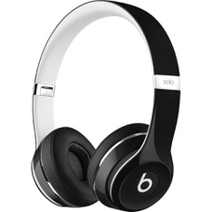Beats by Dr. Dre Solo2 Black Luxe Edition Wired On Ear Headphones ML9E2AM/A - Refurbished