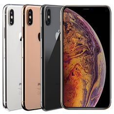5 Pcs - Apple iPhone XS Max 64GB - Unlocked - Certified Refurbished (GRADE C)
