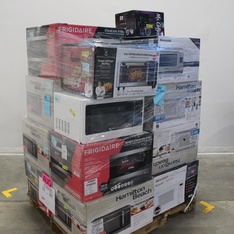 Pallet - 17 Pcs - Microwaves, Ovens / Ranges - Customer Returns - Hamilton Beach, Frigidaire, SHARP