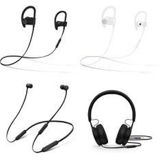 CLEARANCE! 304 Pcs - In Ear Headphones, Over Ear Headphones - Refurbished (GRADE D) - Beats by Dr. Dre, Microsoft