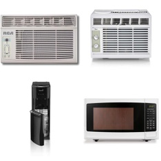 Pallet – 7 Pcs – Air Conditioners, Microwaves – Customer Returns – Hamilton Beach, Panasonic, Primo, Midea