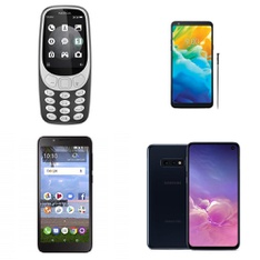 CLEARANCE! 77 Pcs - Mobile & Smartphones - Refurbished (GRADE A, GRADE B, GRADE C - Not Activated) - Samsung, LG, Motorola, ALCATEL