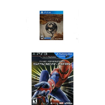 21 Pcs – Sony Video Games – New, New Damaged Box – The Elder Scrolls Online: Elsweyr (PS4), Amazing Spider-Man (Sony Playstation 3, 2012)