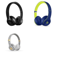 5 Pcs – Beats Solo 3 Headphones – Refurbished (GRADE A, GRADE B)