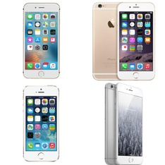 CLEARANCE! 11 Pcs – Apple iPhones – (GRADE A, GRADE B, GRADE C – Locked – Carrier Not Verified) – Models: MG4Q2LLA, ME337J/A, ME352LL/A, A1633