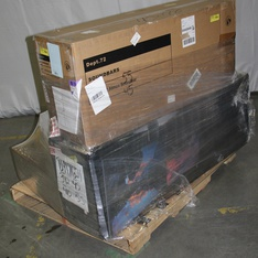 3 Pallets – 267 Pcs – Accessories, Receivers, CD Players, Turntables, Speakers, Boombox – Customer Returns – onn., Onn, One For All, CROSLEY