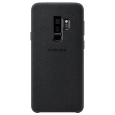 36 Pcs - Samsung Galaxy S9 Plus Case Alcantara, Black - Unique and Stylish Protection - New, Open Box Like New, New Damaged Box, Like New - Retail Ready