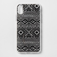 46 Pcs - Heyday Apple iPhone X/XS Printed Case - Black Global - New - Retail Ready