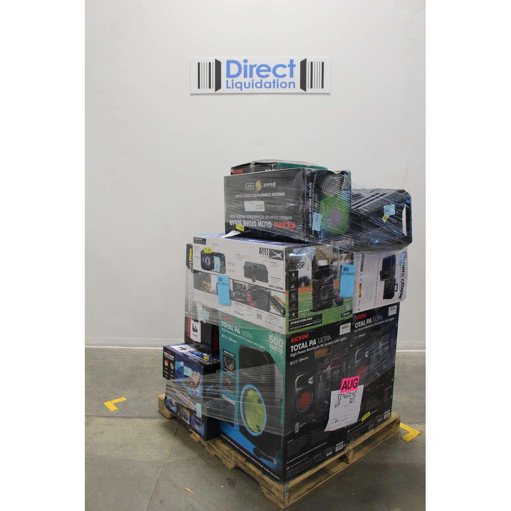 Walmart - 6 Pallets - 159 Pcs - Mixed Electronics - Customer