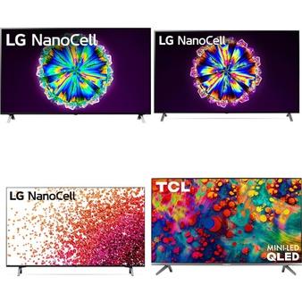 12 Pcs – LED/LCD TVs – Refurbished (GRADE A, GRADE B) – LG, TCL, Philips