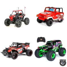 Pallet – 33 Pcs – Vehicles, Trains & RC, Boardgames, Puzzles & Building Blocks – Customer Returns – New Bright, My Life As, Monster Jam, Cra-Z-Art