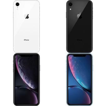 6 Pcs – Apple iPhone XR (Unlocked) – Brand New – Models: MRYT2LL/A, MRYR2LL/A, MRYY2LL/A, MRYX2LL/A