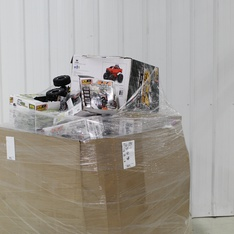 3 Pallets – 74 Pcs – Toys – Vehicles, Trains & RC, Action Figures, Dolls – Customer Returns – New Bright, Adventure Force, Air Hogs, Cra-Z-Art