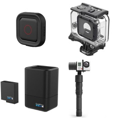 10 Pcs - GoPro Accessories-Refurbished (Used,Like New,New Damaged Box) - GoPro Camera, GoPro, Sunpak, North
