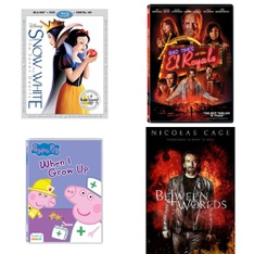 150 Pcs - Movies & TV Media - New - Retail Ready - 20th Century Fox, Lionsgate, Sony Pictures Home Entertainment, Paramount