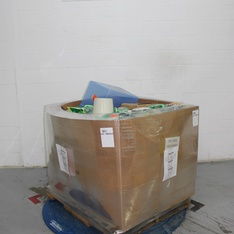 Clearance! Pallet - 631 Pcs - Giftwrap & Supplies, Decor, Office Supplies, Decorations & Favors - Customer Returns - Lion Brand, threshold, spritz, UNBRANDED