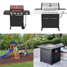 Pallet – 8 Pcs – Grills & Outdoor Cooking, Outdoor Play – Customer Returns – Expert Grill, Backyard Discovery, HomeTrends, Pleasant Hearth