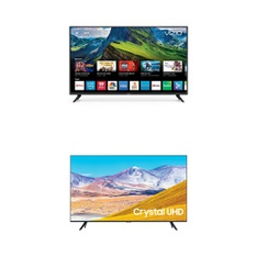 24 Pcs – LED/LCD TVs – Refurbished (GRADE A) – VIZIO, Samsung