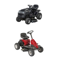 CLEARANCE! 2 Pcs - Riding Lawn Mowers - Tested NOT WORKING - Murray
