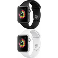 6 Pcs – Apple Watch – Series 3 – 42MM – GPS – Refurbished (GRADE D) – Models: MTF32LL/A, MTF22LL/A