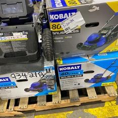 Truckload – Lowe's Outdoor Tools – Customer Returns