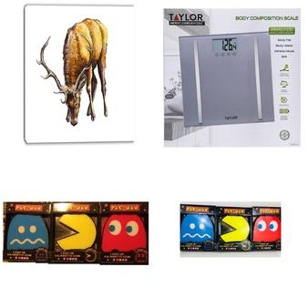 34 Pcs – Home Decor – Used, Like New, Open Box Like New – Retail Ready – Design Art, Paladone, Taylor, WATERPIK