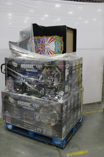 Pallet – 12 Pcs – Other – Customer Returns – ARCADE1up