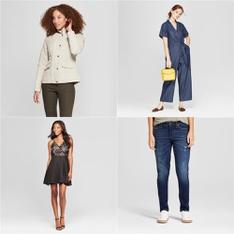 250 Pcs - T-Shirts, Polos, Sweaters & Cardigans, Underwear, Intimates, Sleepwear & Socks - New - Retail Ready - A New Day, Universal Thread, Lily Star, Gilligan & O'Malley