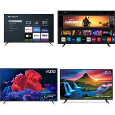 5 Pcs – LED/LCD TVs – Refurbished (GRADE C) – VIZIO, onn.