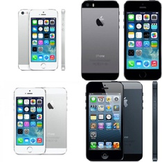 CLEARANCE! 5 Pcs - Apple iPhones - Refurbished (GRADE A, GRADE C - Unlocked) - Models: ME342LL/A, ME341LL/A, MD650LL/A, ME351LL/A