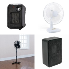 Pallet – 54 Pcs – Heaters, Fans, Humidifiers / De-Humidifiers – Customer Returns – WESTINGHOUSE, Mainstays, Mainstay's, Comfort Zone