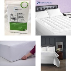 Pallet – 36 Pcs – Covers, Mattress Pads & Toppers, Comforters & Duvets – Customer Returns – Mainstays, Mainstay's, SPRINGS GLOBAL, Hotel Style