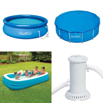 Pallet – 16 Pcs – Pools & Water Fun – Customer Returns – Play Day