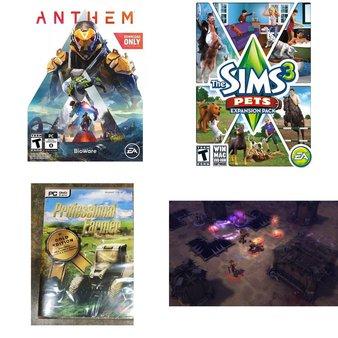3 Pallets – 593 Pcs – Computer Software & Video Games – Customer Returns – Electronic Arts, Avanquest, Activision, Hyper Tough