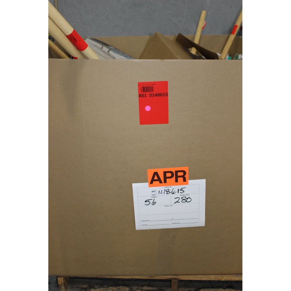 Clearance! Pallet - 140 Pcs - Accessories, Other - Brand New - Retail Ready  - Garden Treasures, Orbit, Patio Life, Jobe's