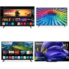 48 Pcs – LED/LCD TVs – Refurbished (GRADE A, GRADE B) – VIZIO, Sony, WESTINGHOUSE