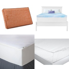 Pallet – 35 Pcs – Covers, Mattress Pads & Toppers, Comforters & Duvets – Customer Returns – Mainstay's, Aller-Ease, Beautyrest, Dream Serenity