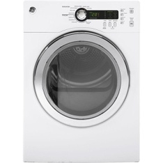 Pallet - GE DCVH480EKWW 4.0 cu. ft. Electric Compact Dryer in White - New - GE