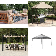 Pallet - 6 Pcs - Patio, Grills & Outdoor Cooking - Customer Returns - HomeTrends, Backyard Grill, Mainstays, Ozark Trail
