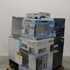 6 Pallets - 52 Pcs - Bar Refrigerators & Water Coolers, Air Conditioners - Customer Returns - Galanz, GE, HISENSE, Igloo