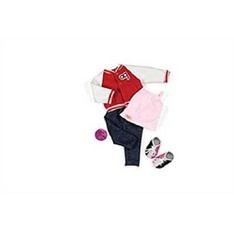 100 Pcs - Our Generation Dolls Gotta Bowl Retro Bowling Outfit for Dolls, 18 - New - Retail Ready