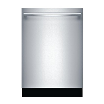 Lowes – Pallet – Bosch SHXM78W55N 2800 Series Top Control Tall Tub Bar Handle Dishwasher, Stainless Steel – New (Scratch & Dent)